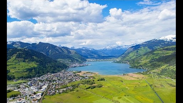 Summer in Zell am See-Kaprun from above